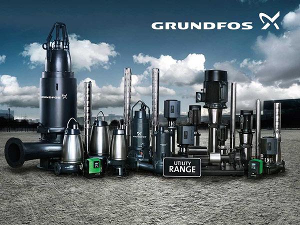 Grundfos utility range suppliers